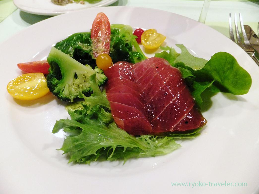 Marinated tuna, Perci (Higashi-Ginza)