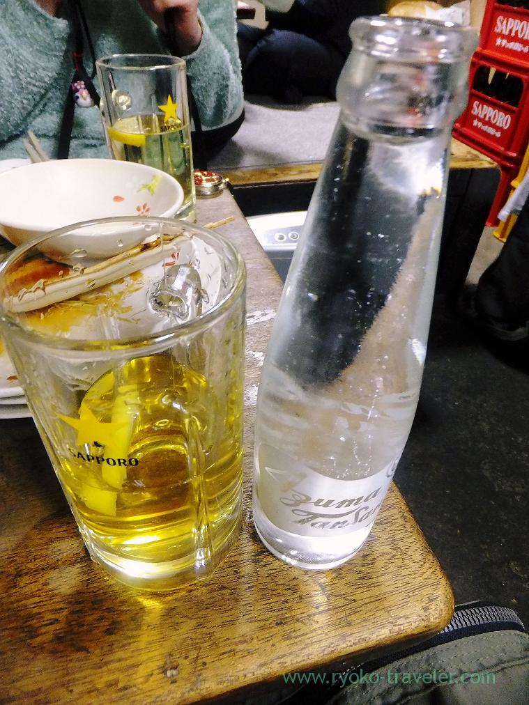 Shochu highball, Toyotaya (Hirai)