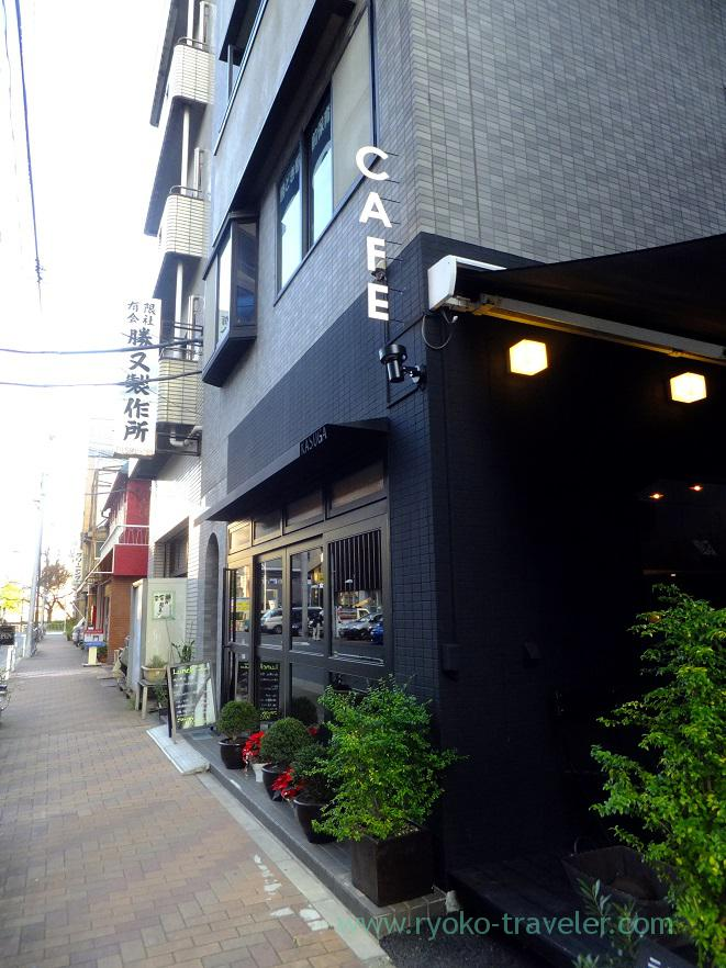 Appearance, Gohan Cafe Kasuga (Kachidoki)