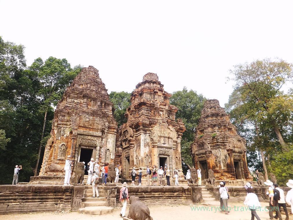 Appearance , Preah Ko (Siem Reap2014)
