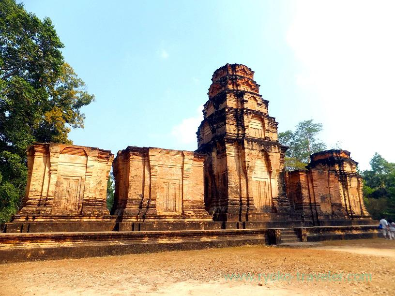 Appearance from back, Prasat Kravan, Cambodia (Siem Reap2014)