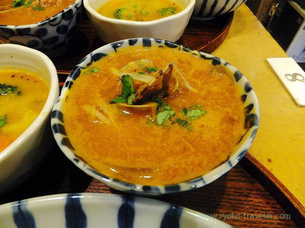 Asari clam curry, Jyogame (Morishita)