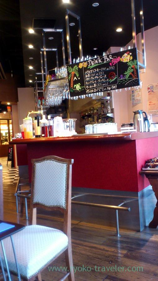 Bar counter, Wine-Bar Humuhumunukunukuapua'a (Kachidoki)