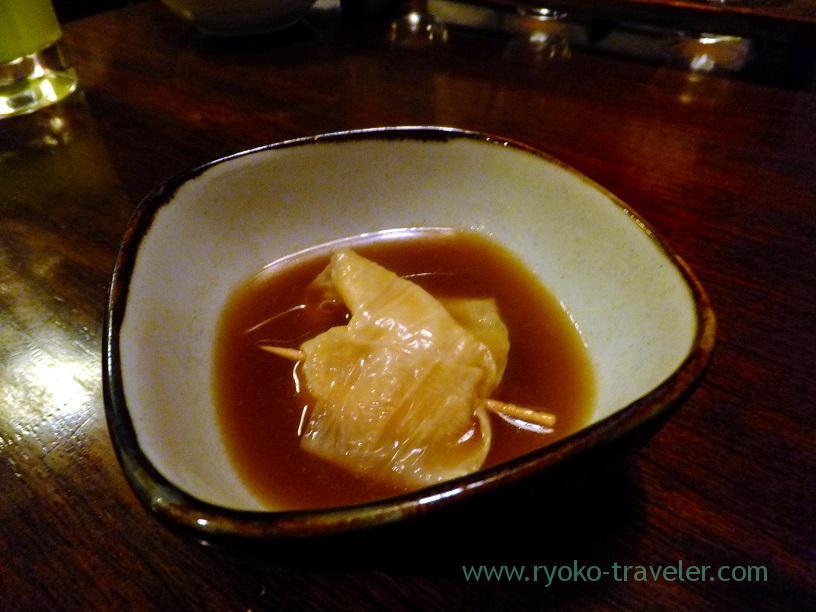 Bean-curd skin oden, Kingyoya (Funabashi)