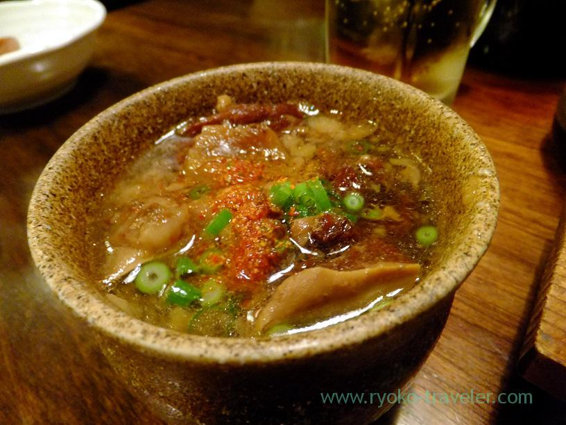 Beef tendon stew, Kingyoya (Funabashi)