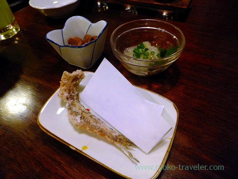 Bone senbei, Kingyoya (Funabashi)
