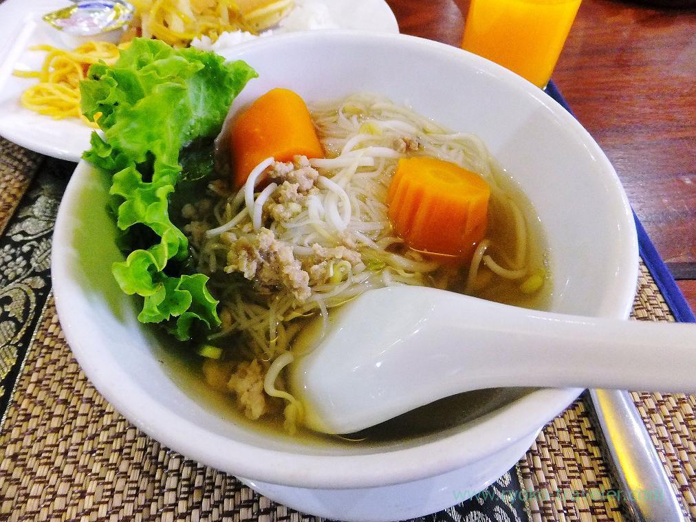 Breakfast, City Angkor Hotel (Siem Reap2014)