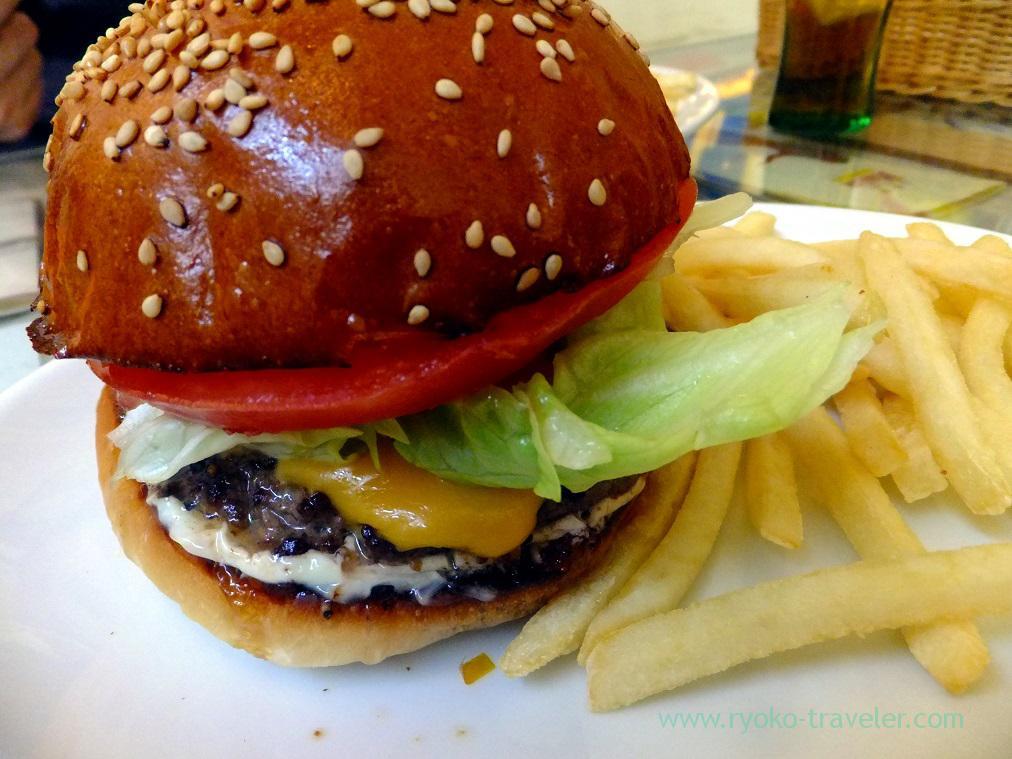 Cheeseburger, Aloha Diner Dukes (Funabashi)