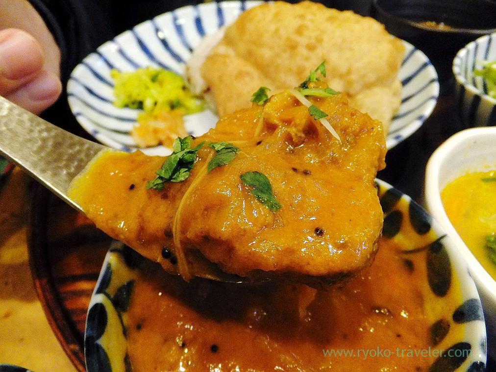 Chicken curry, Jyogame (Morishita)