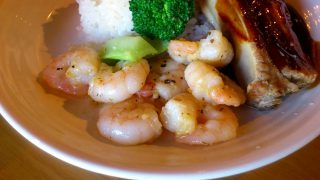 (Closed) Kachidoki : Garlic shrimp at Wine-bar Tera Humuhumunukunukuapua'a (ワインバーテラ フムフムヌクヌクアプアア)