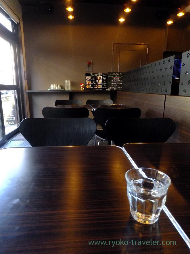 Interior, Gohan Cafe Kasuga (Kachidoki)
