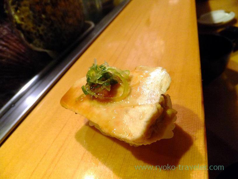 Monkfish liver, Sushidai (Tsukiji Market)