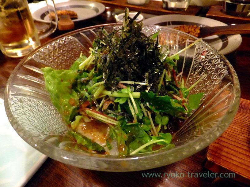 Potherb salads, Kingyoya (Funabashi)