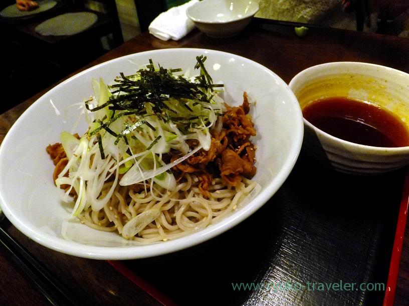 Soba with pork, Kingyoya (Funabashi)