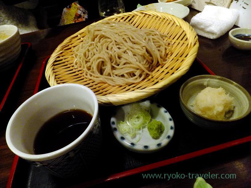 Soba with pungent taste radish, Kingyoya (Funabashi)