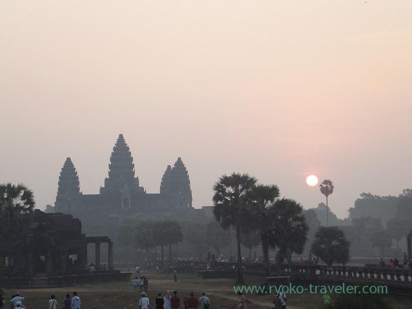 Sunrise1, Angkorwat(Siem Reap2014)