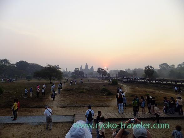 Sunrise2, Angkorwat(Siem Reap2014)
