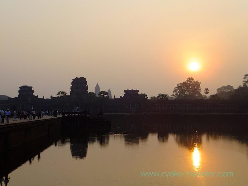 Sunrise3, Angkorwat(Siem Reap2014)