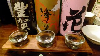Funabashi : Oden, soba and Japanese sake at Kingyoya (金魚屋)