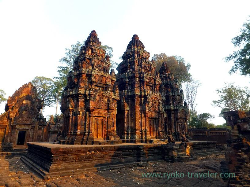 View, Banteay Srei, cambodia (Siem Reap2014)