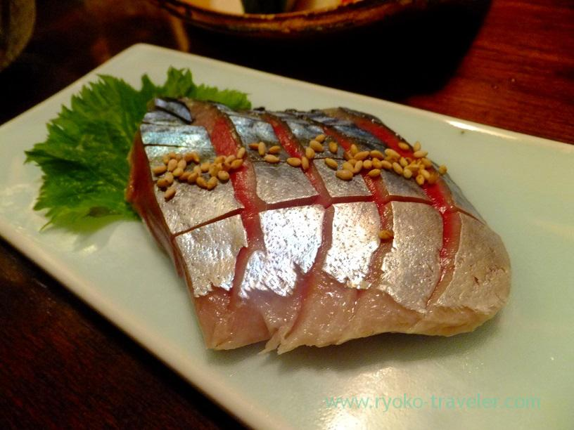 Vinegared mackerel, Kingyoya (Funabashi)