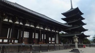 Trip to Nara 2012 Autumn (2/9) – the 1st day , Kofuku-ji and Gango-ji