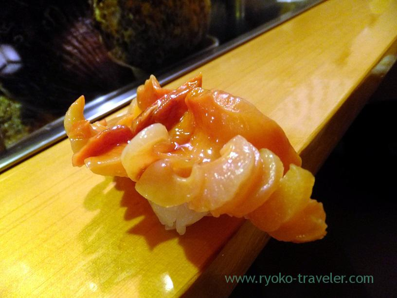 ark shell, Sushidai (Tsukiji Market)