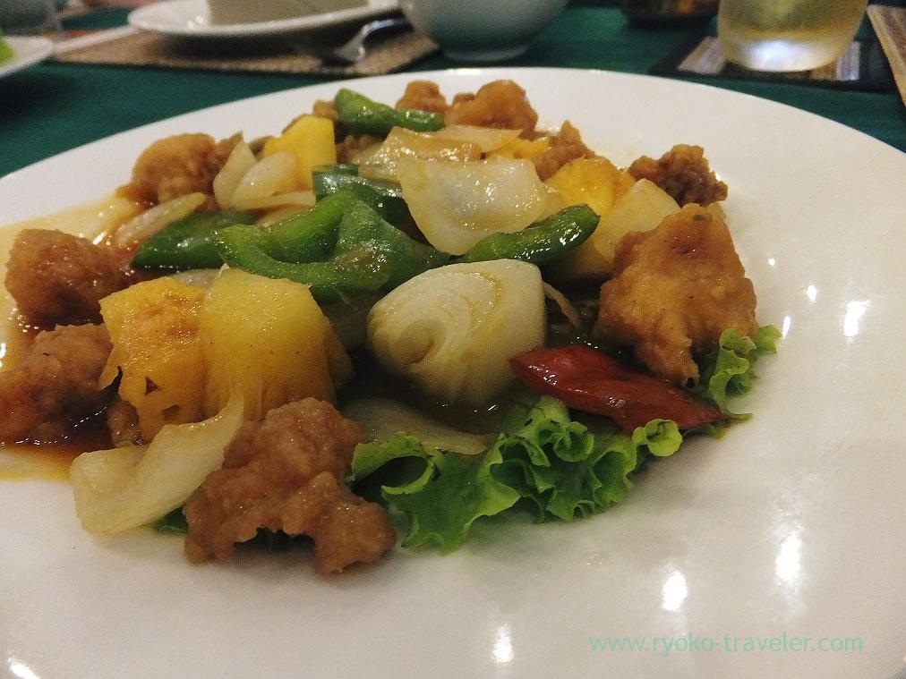 sweet sour pork, Lunch (Siem Reap2014)