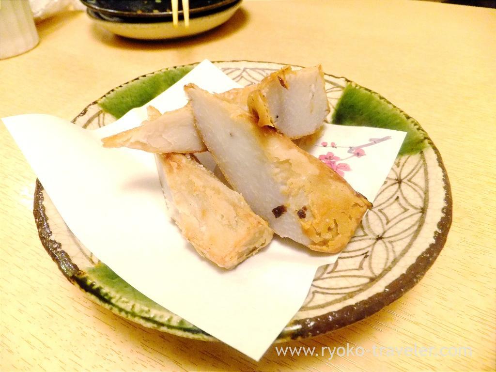 Grilled ebi-imo, Ginza Shimada (Ginza)