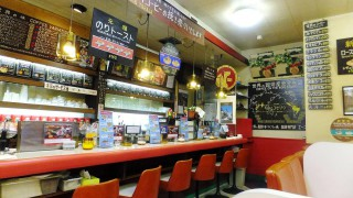 Kanda : Laver sandwich and retro kissaten (珈琲専門店エース)