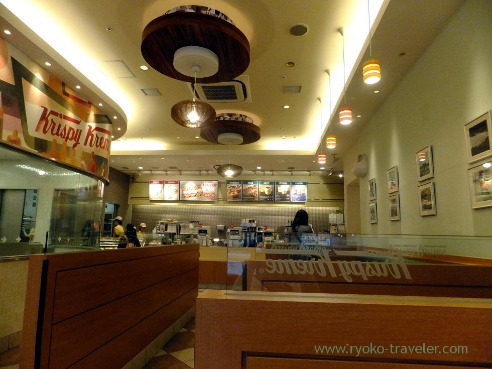 Interior, Krispy cream doughnut (Funabashi Keibajo)