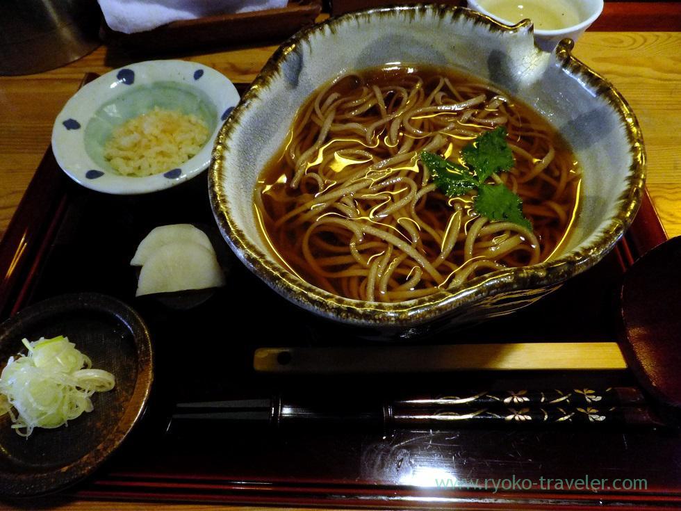 Kake soba, Sobancyu,trip to Nodi onsen 2014