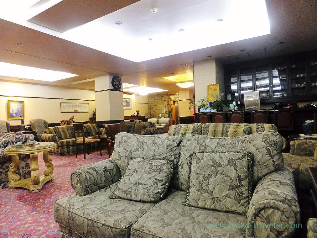 Lobby, Nodi onsen hotel,trip to Nodi onsen 2014