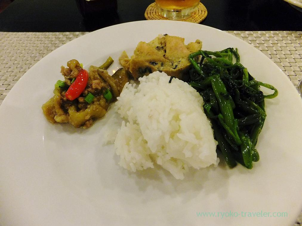 My dinner, Chinese foods restaurant(Siem Reap2014)