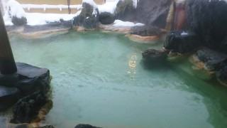 Fukushima : Noji onsen with my mother 2/2 (野地温泉)