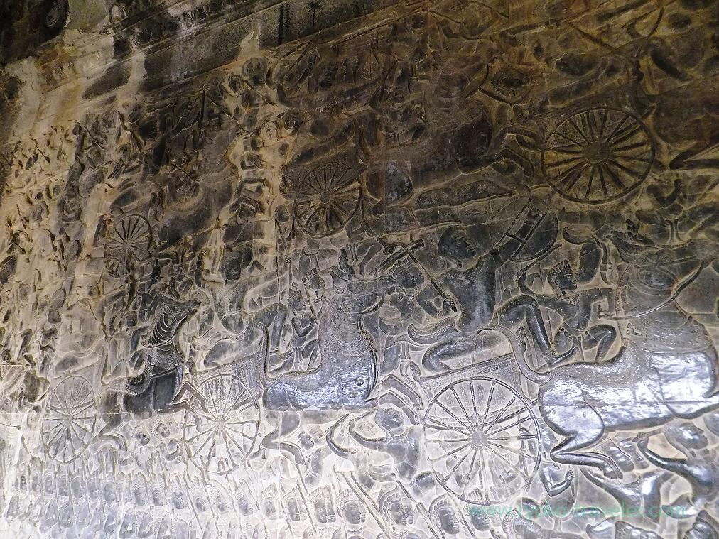 Relief, Angkorwat(Siem Reap2014)