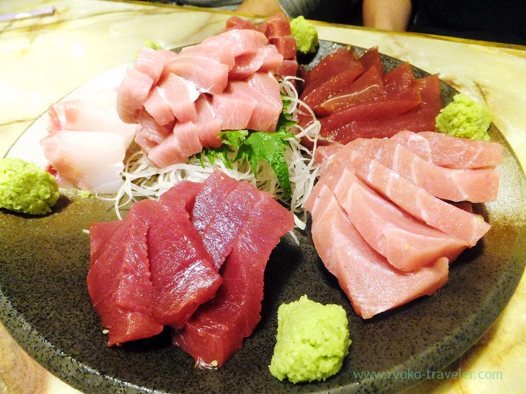 Sashimi, Kashigashira (Tsukiji)
