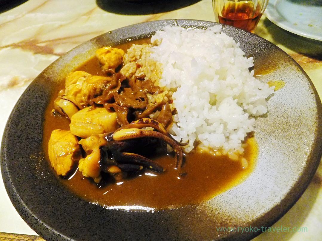 Seafood curry, Kashigashira (Tsukiji)