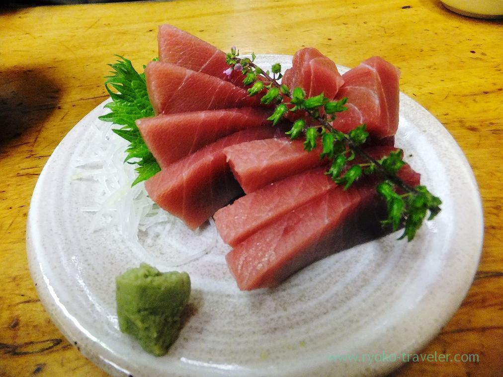 Tuna sashimi, Odayasu (Tsukiji Market)