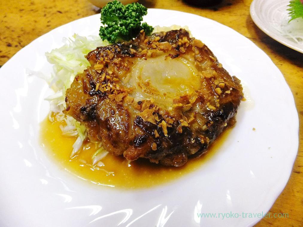 Tuna tail steak, Odayasu (Tsukiji Market)