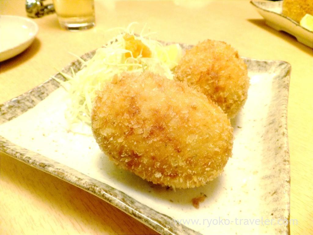 snow crab cream croquette, Ginza Shimada (Ginza)