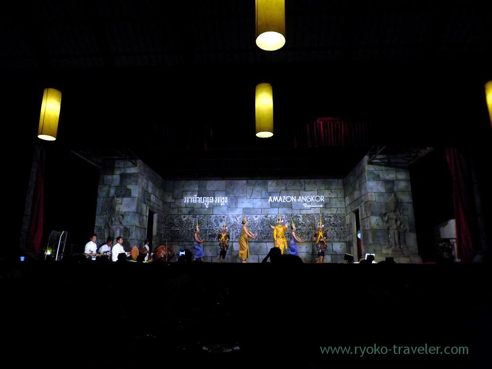 Apsara dance show (Siem Reap, cambodia 2014)