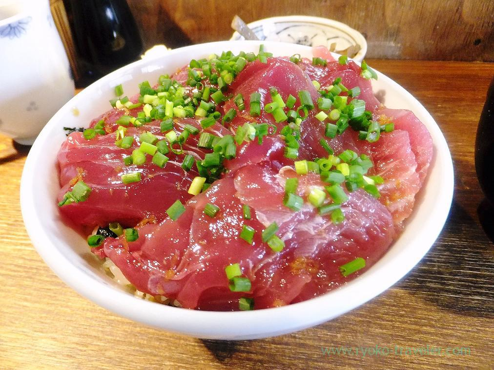 Hatsu-gatsuo bowl, Hajime Sengyo-ten (Tsukiji)