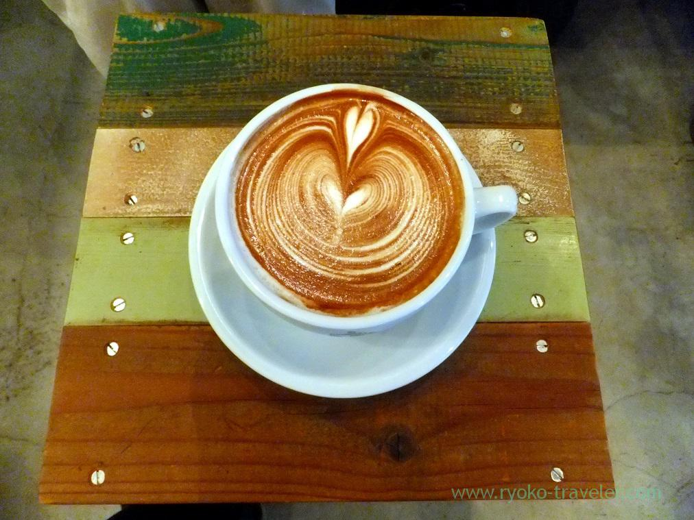 Vanilla Soy Latte, Turret Coffee(Tsukiji)