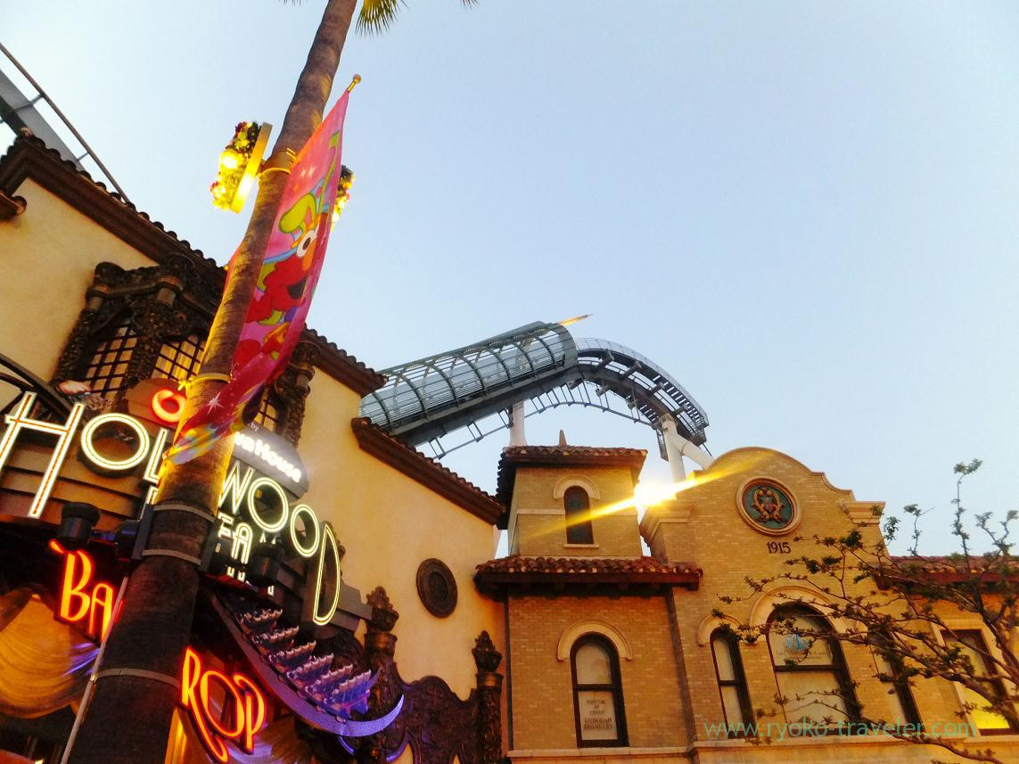 Around hollywood, USJ (Osaka2014-1)