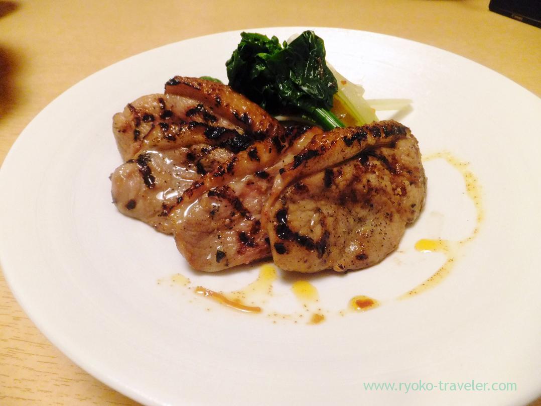 Grilled ducks meat, Ginza Shimada (Ginza)