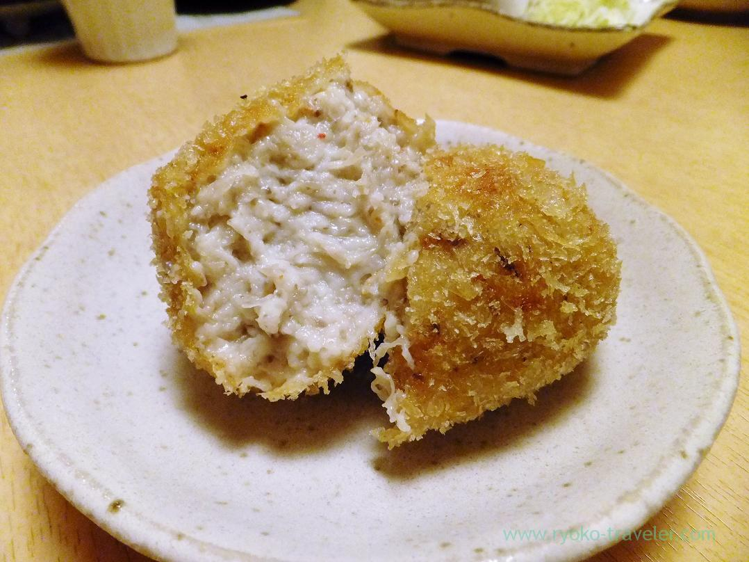 Section of Snow crabs cram croquette, Ginza Shimada (Ginza)