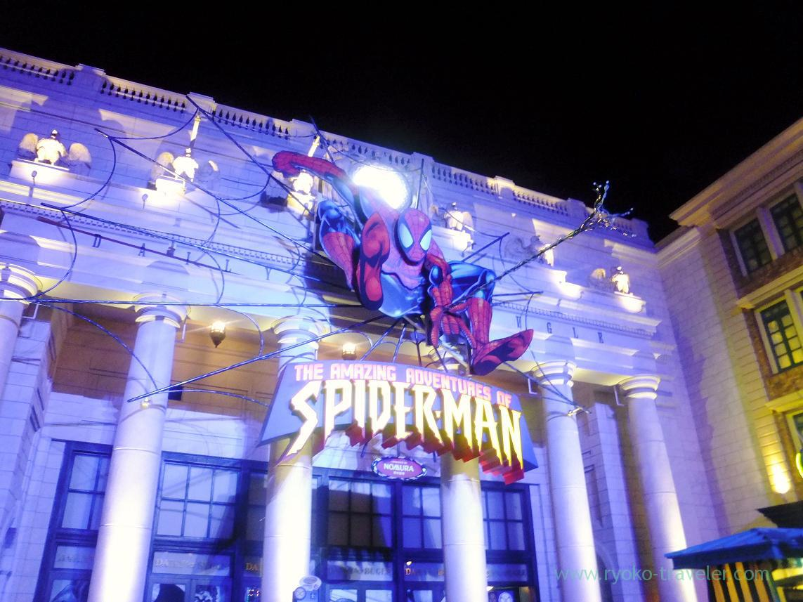 Spiderman, USJ (Osaka2014-1)
