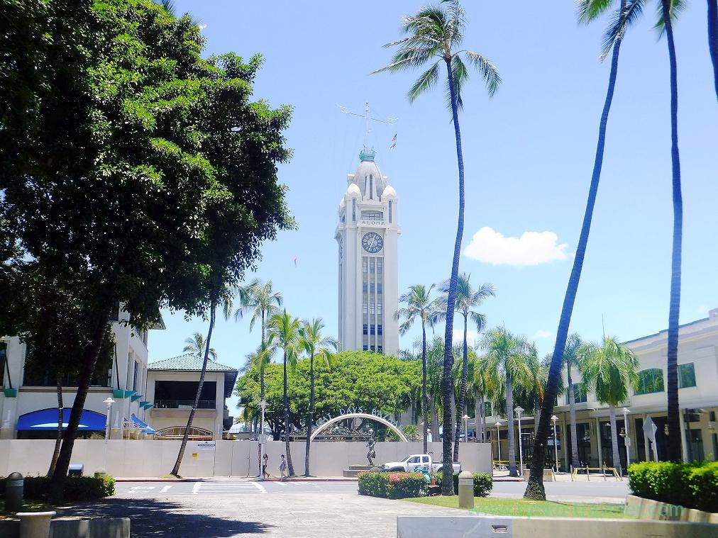 Aloha tower (Honolulu 2014)