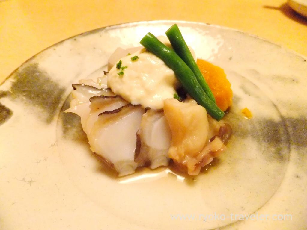 Boiled octopus, Ginza Shimada (Ginza)